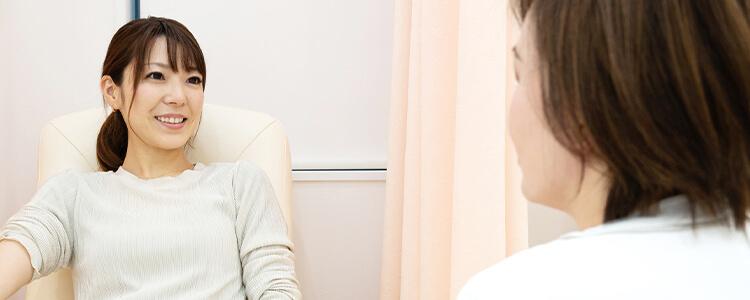 てんのうじちひろウィメンズクリニックの婦人科・漢方内科・女性内科・産婦人科と、女性のライフステージに合わせた診療を行います